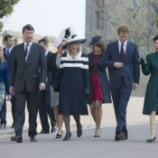 Les princesses Eugenie et Beatrice resplendissent à Windsor, cousin Harry amuse