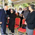 La famille de la princesse Neslisah a reçu de nombreux messages de condoléances lors des funérailles de la dernière sultane de la dynastie ottomane, le 3 avril 2012 à Istanbul (Turquie), au lendemain de sa mort à l'âge de 91 ans.