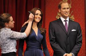 Kate Middleton : Sa première statue de cire, honnête, trône chez Mme Tussauds