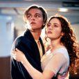 Leonardo DiCaprio et Kate Winslet dans  Titanic  (1997) de James Cameron.