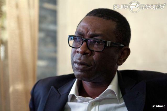 Youssou N'Dour le 23 février 2012 à Dakar