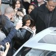 Kanye West et Kim Kardashian sont allés faire du shopping ensemble à New York, le 5 avril 2012