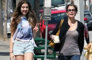 Teri Hatcher : Fous rire et moments complices avec sa très belle fille Emerson