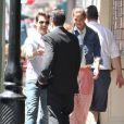 Exclusif : Le 1er avril 2012, Katie Holmes ravissante avec son mari Tom Cruise, ont fait une petite sortie remarquée à la Nouvelle Orléans