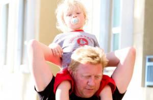 Boris Becker : Le petit Amadeus se fait la malle sous les yeux de la douce Lilly
