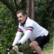 Nicolas Sarkozy s'offre une pause sportive, son fils Pierre poursuit sa tournée