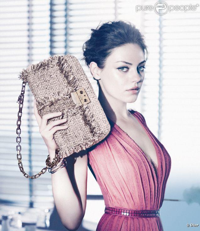 Mila Kunis dans la campagne Dior