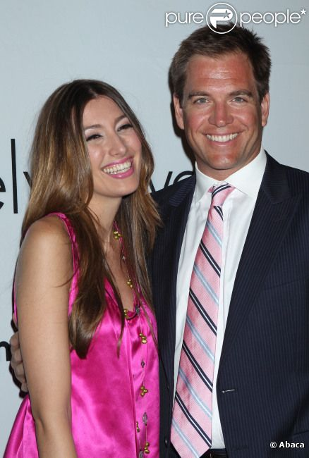 Michael Weatherly et sa femme Bojana Jankovic à Los Angeles en septembre 2011