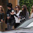 Emma Watson tourne The Bling Ring de Sofia Coppola à Los Angeles. Le 11 avril 2012