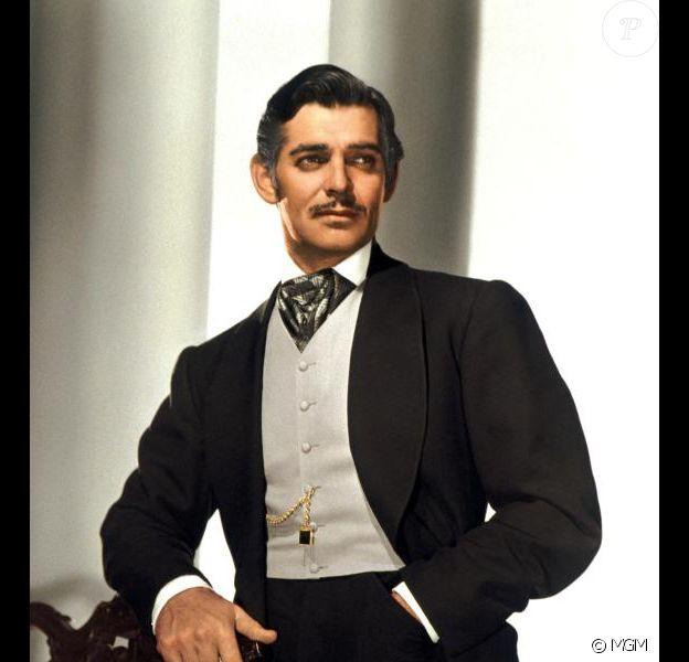 Clark Gable dans Autant en emporte le vent (1939)