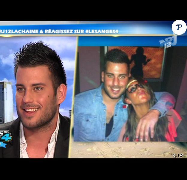 Zelko sur le plateau des Anges de la télé-réalité - Le Mag le lundi 16 avril 2012 sur NRJ 12