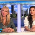Nathalie et Nawel sur le plateau des Anges de la télé-réalité - Le Mag le lundi 16 avril 2012 sur NRJ 12