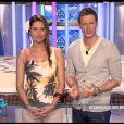 Matthieu Delormeau et Jeny Priez sur le plateau des Anges de la télé-réalité - Le Mag le lundi 16 avril 2012 sur NRJ 12