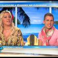 Loana et Benoît sur le plateau des Anges de la télé-réalité - Le Mag le lundi 16 avril 2012 sur NRJ 12