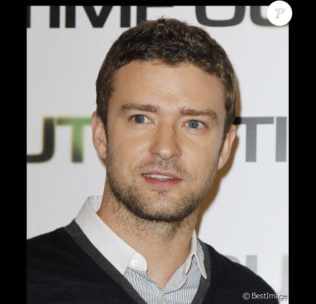 Justin Timberlake le 4 novembre 2011 à Paris
