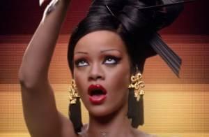Rihanna : Elle danse en geisha quand sa mère gaffe à propos d'Ashton Kutcher