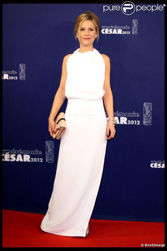 Marina Foïs lors des César le 24 février 2012