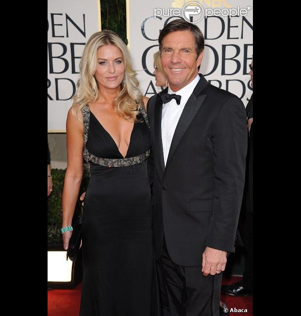 Kimberly et Dennis Quaid en février 2011 à Los Angeles.