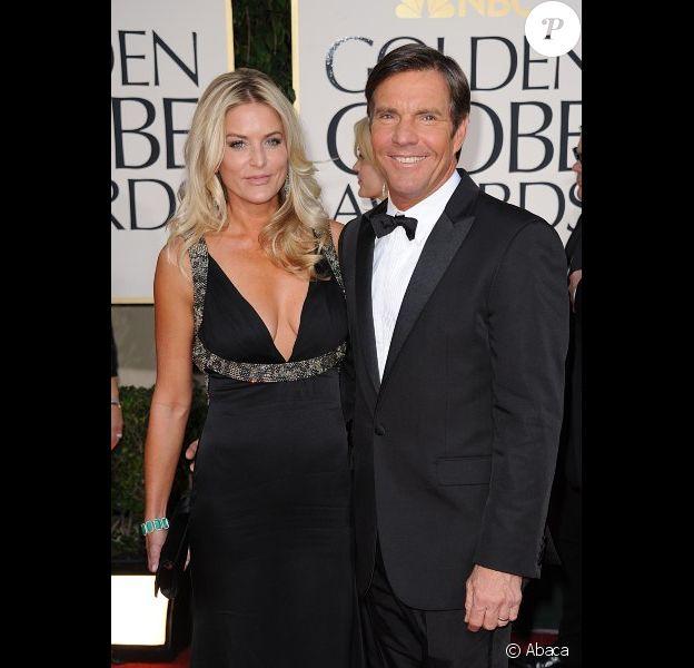 Kimberly et Dennis Quaid en février 2011 à Los Angeles.