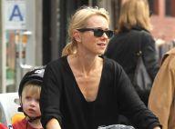 Naomi Watts et Liev Schreiber : Tendre balade à vélo avec leurs deux fils