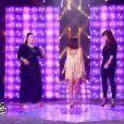 Jenifer, Al.Hy et Amalya dans The Voice, samedi 5 mai 2012 sur TF1