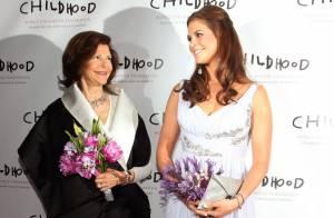 La princesse Madeleine et Malin Akerman rivalisent de charme à New York