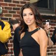 La ravissante Eva Longoria, se rend au Ed Sullivan Theater pour assister à l'émission Late Show with David Letterman et promouvoir le final de Desperate Housewives. New York, le 9 mai 2012.