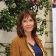 Tina Kieffer, rédactrice en chef de Marie Claire, lors de la conférence de presse pour le lancement de la troisième édition de La flamme Marie Claire, à Paris, le 10 mai 2012