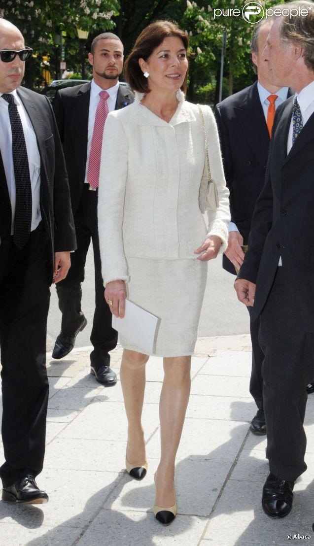 La princesse Caroline de Hanovre se trouvait le 11 mai 2012 au théâtre de Baden-Baden pour la célébration du 900e anniversaire du margraviat et de la Maison de Baden.