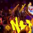 Stephan chante avec Johnny Hallyday Requiem pour un fou le samedi 12 mai 2012 dans The Voice