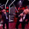 Garou et Louis dans The Voice, samedi 12 mai 2012, sur TF1