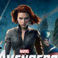 La Veuve noire et Captain America dans  Avengers.