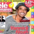 """Yannick Noah : ses """"quatre vérités"""" en couverture de  Télé 2 Semaines , le 14 mai 2012."""