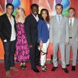 Charlie Barnett, Lauren German, Eamonn Walker, Merle Dandridge, Jesse Spencer, et David Eigenberg lors des NBC Upfronts à New York le 14 mai 2012