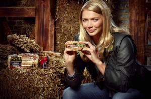 Jodie Kidd : Un top model fan de sandwichs, égérie d'une marque de pain de mie !