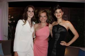 Cannes 2012 : Lana Del Rey et Marion Cotillard, précieuses stars réunies