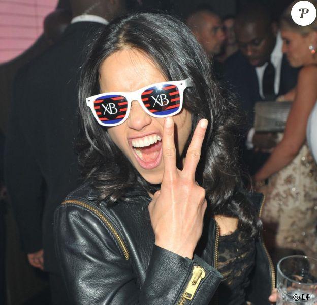 Michelle Rodriguez au Gotha Club le 18 mai 2012 en marge du Festival de Cannes