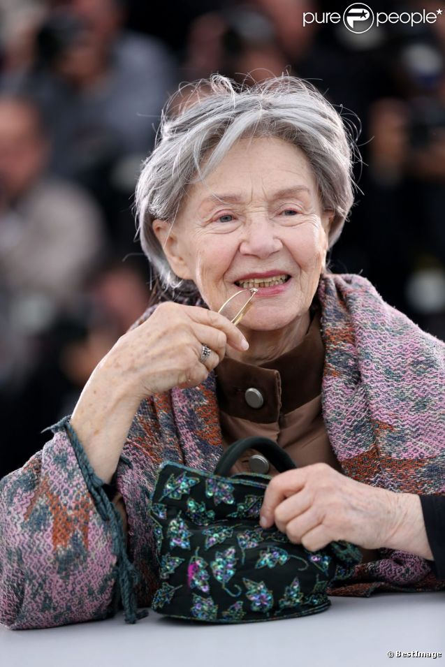 Emmanuelle Riva - New Photos
