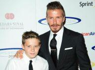David Beckham et son fils Brooklyn : Duo stylé sous les yeux de Victoria