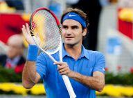 Roger Federer papa poule : ''Je suis toujours aussi gamin avec mes filles''