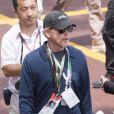 Ron Howard dans le paddock du Grand Prix de Monaco le 27 mai 2012