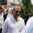 Roman Abramovich dans le paddock du Grand Prix de Monaco le 27 mai 2012