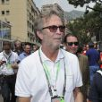 Eric Clapton dans le paddock du Grand Prix de Monaco le 27 mai 2012