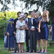 Camilla Parker Bowles au mariage de son filleul Henry, sous haute tension
