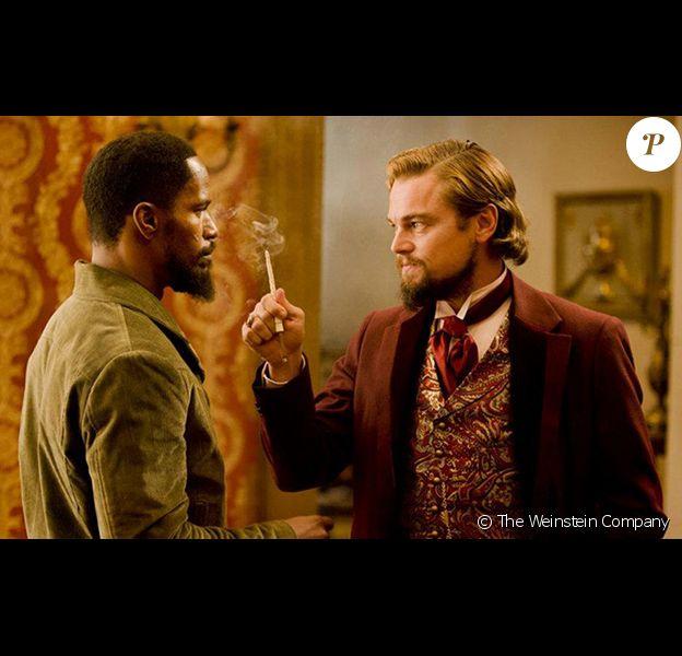 Leonardo Dicaprio et Jamie Foxx dans Django Unchained de Quentin Tarantino. En salles le 16 janvier 2012.