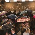 Le palais des destival de Cannes 2012 sous la pluie (22 mai)