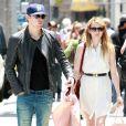 Chord Overstreet et Emma Roberts à Los Angeles en juillet 2011.