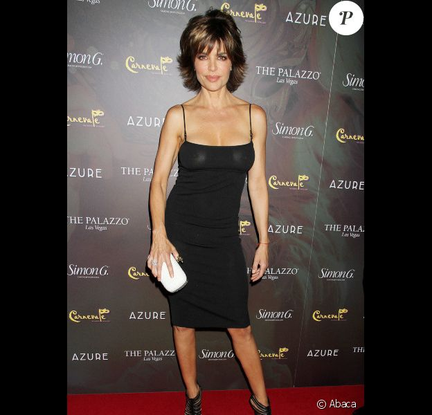 Lisa Rinna, 48 ans, à la Simon G Jewellery Summer Soiree and Kickoff for Carnival Nights, à Las Vegas le 2 juin 2012.