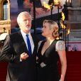 Kate Winlest et James Cameron avant l'avant-première de  Titanic  en 3D à Londres, le 27 mars 2012.