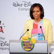 Michelle Obama lutte contre l'obésité en faisant appel à Disney